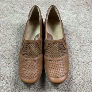 Sesto Meucci Made In Italy Leather Loafers Sz 9.5N